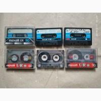 Аудиокассеты б/у, очень много