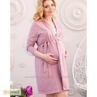 Халаты трикотажные для беременных женщин. в наличии все размеры.