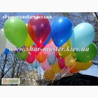 Гелиевые воздушные шары в Киеве, оформление свадьбы шарами, фигуры из шаров