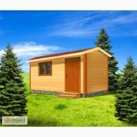Особенности деревянных бытовок