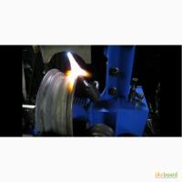 Правка стальных, легкосплавных дисков на станке «Радиал М2 (гидронасос, ручной привод)