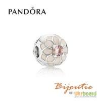 Оригинал PANDORA шарм-клипса цветущий георгин 791828NBP