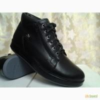 Зимние мужские ботинки под кроссовки Bertoni Скидка