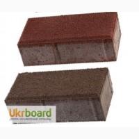 Брусчатка -тротуарная плитка Кирпичик 45 (цветная)