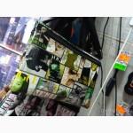 Стильная сумка на замочке молодежная с рисунком тканевая компактная яркая абстракция