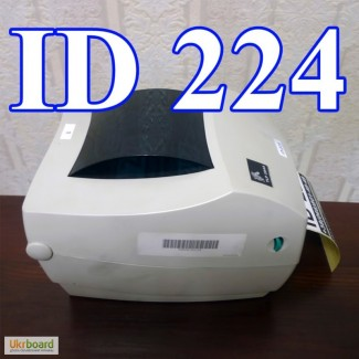 Продам термопринтер Zebra LP2844, LAN (Ethernet), USB, RS232 - гарантия 6 месяцев