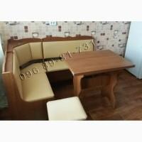 Кухонный уголок Лорд. Угловой диванчик, раскладной стол и 2 табурета