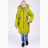 Зимняя куртка для девочки Мода яблоко разные цвета e3003b147c6f9