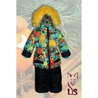 Зимняя курточка и комбинезон для девочки Солнышко 1-6 лет