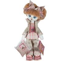 Набор для шитья текстильных кукол Соня, 18 45см., в кор.32 23 6см