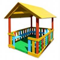 Продам деревянный домик-беседку Ягодка