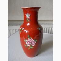 Старинная китайская ваза для цветов