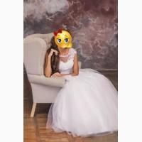 Продам красивое белоснежное свадебное платье