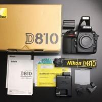 Nikon D810 Цифровая зеркальная фотокамера