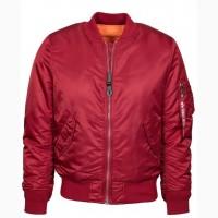 Жіноча куртка бомбер MA-1 W Flight Jacket Alpha Industries (червона)