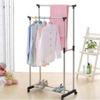 СКИДКА 20%Двойная стойка-вешалка для Одежды. Double-pole