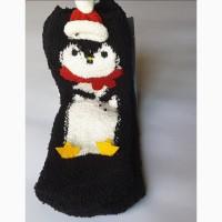 Суперносочки новогодний пингвин р.31-34, 6-8 лет, pepperts, германия