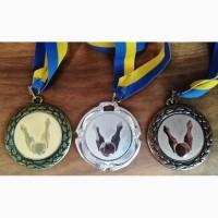 Комплект медалей, боулинг