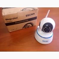 IP камера видеонаблюдения ESCAM QF002 с работой по LAN/WIFI