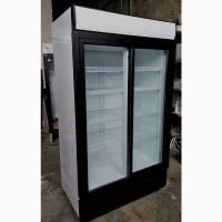 Вітрини-шкафи холодильні б/в з розсувними дверима з підсвіткою