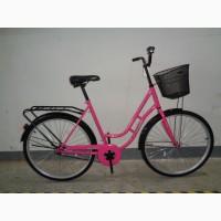 Велосипед женский с корзиной Azimut Retro 28