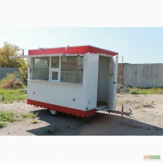 Продам торговый павильон на колесах