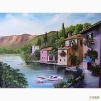 Картина маслом Италия 50х65