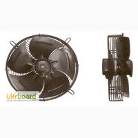 Вентиляторы осевые ALASKA, модели RQA-250-4E - RQA-500-4E