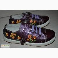Туфли - кроссовки с вышивкой - 31 размер - 19, 5 см