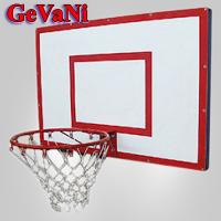 Щит баскетбольний з кільцем та сіткою