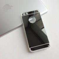 Зеркальный силиконовый чехол на iPhone 5/5S