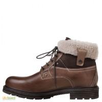 Распродажа! Кожаные тёплые ботинки Freemood Cuoio Италия