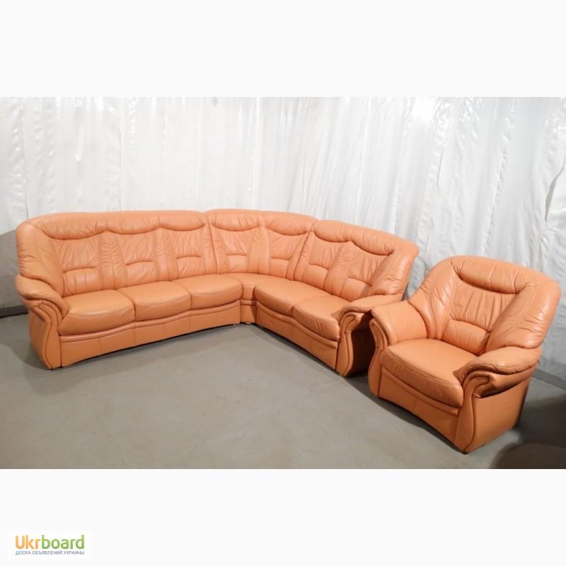 Кожаный диван цена Моск обл