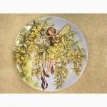Продам английские настенные тарелки с изображением цветочных фей