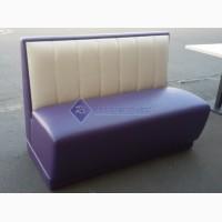 Продажа диванов б/у для кафе фиолетовых из кожзаменителя