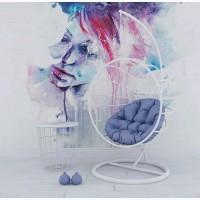 Подвесное кресло из металла Эни