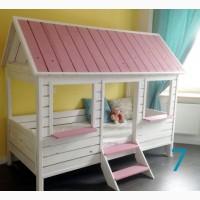 Кроватка-домик из дерева. Экологично! Производство Украины