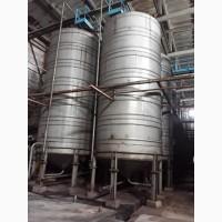 Емкость из нержавеющей стали, вместимостью 50 м. куб
