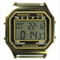 Часы ЭЛЕКТРОНИКА ЧН-01 с АЦНХ 5 мелодий арт.1162