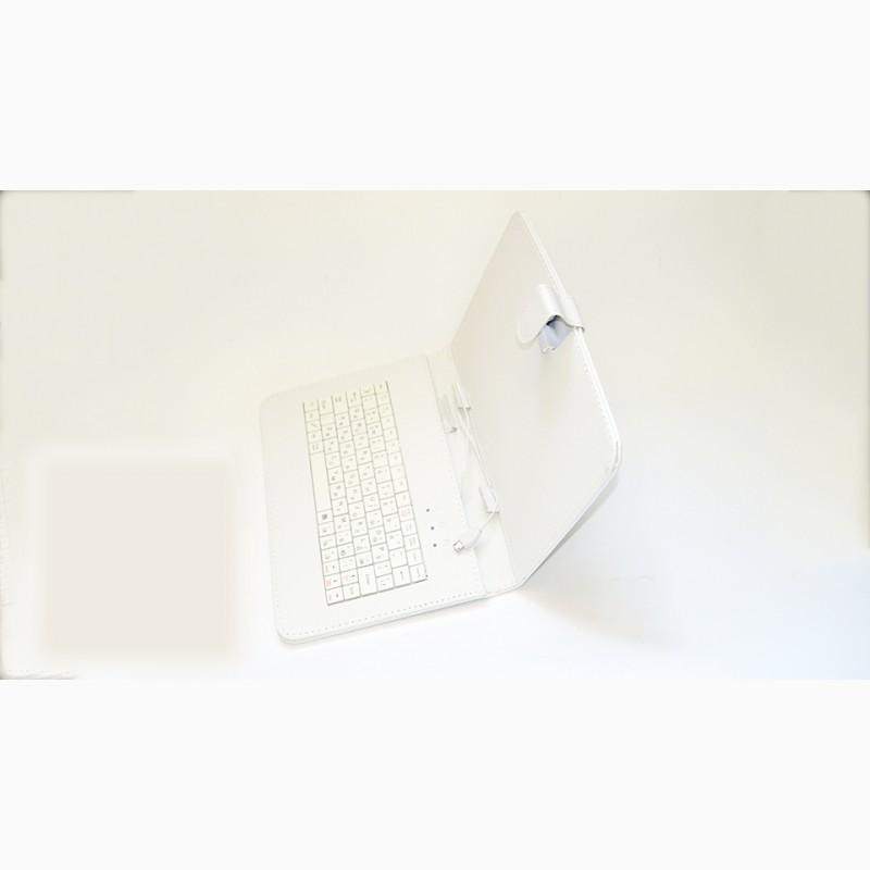 Фото 5. Чехол-клавиатура microUSB 9 Белый