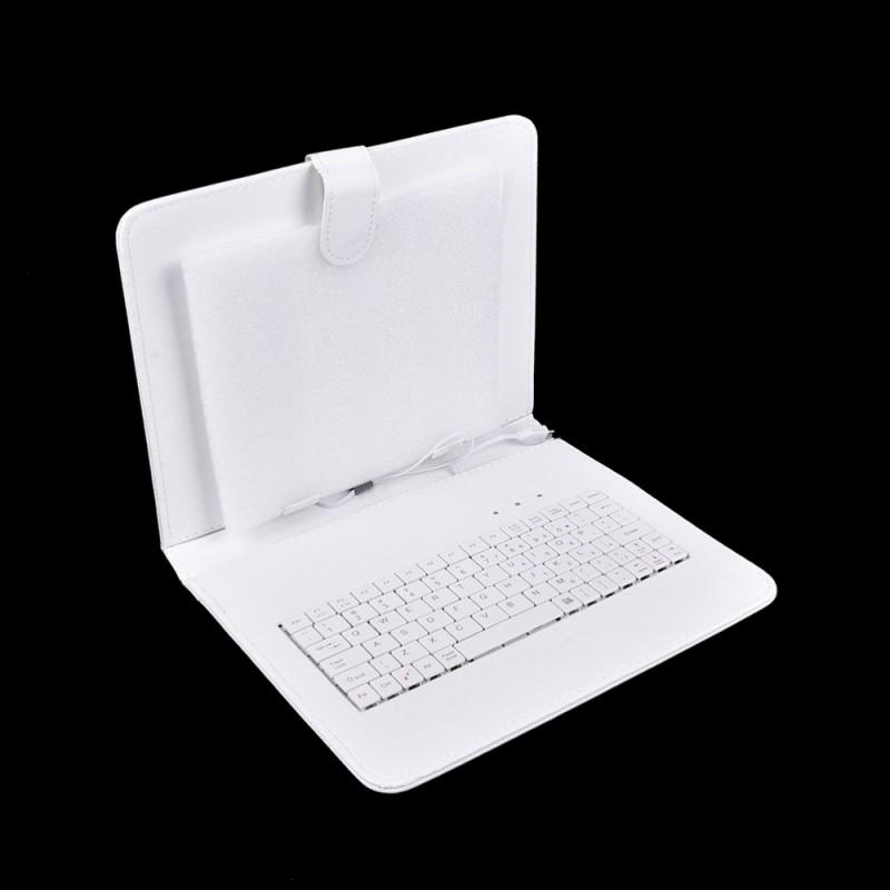 Фото 6. Чехол-клавиатура microUSB 9 Белый