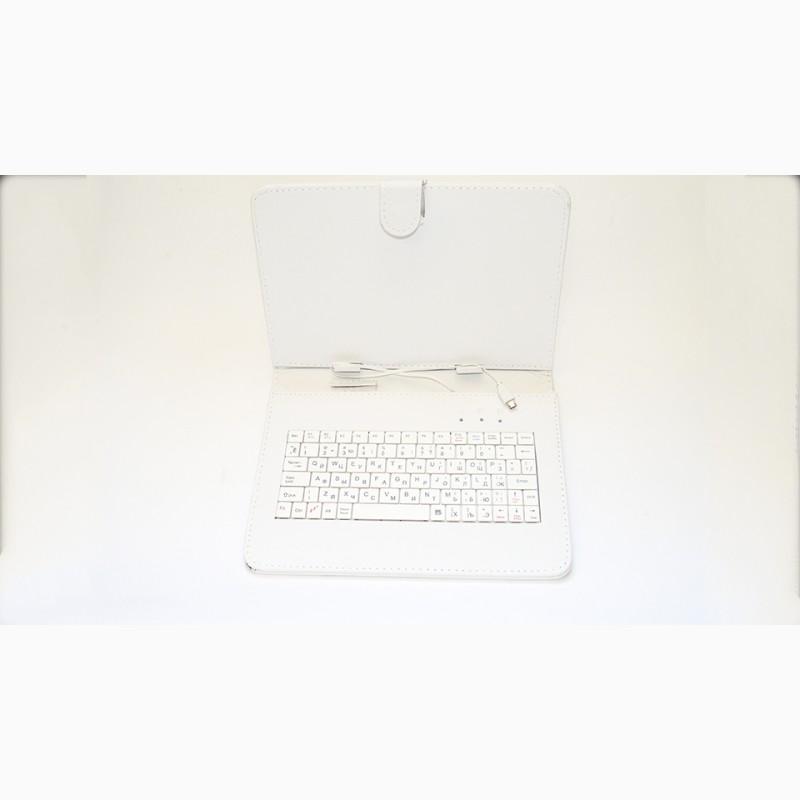 Фото 7. Чехол-клавиатура microUSB 9 Белый