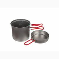 Evernew Titanium ECA265R титановая посуда кастрюля котелок сковородка