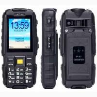 Противоударный телефон Land Rover X6000 2 сим, 2, 4 дюйма, 3 Мп, 6000 мА/ч.IP67