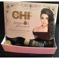 Акция CHI Argan Oil Plus Moringa Oil-Восстанавливающее масло для волос- оригинал USA