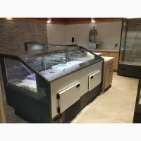 Холодильная витрина куб JBG FG-1.56 длинной 1.6 метра