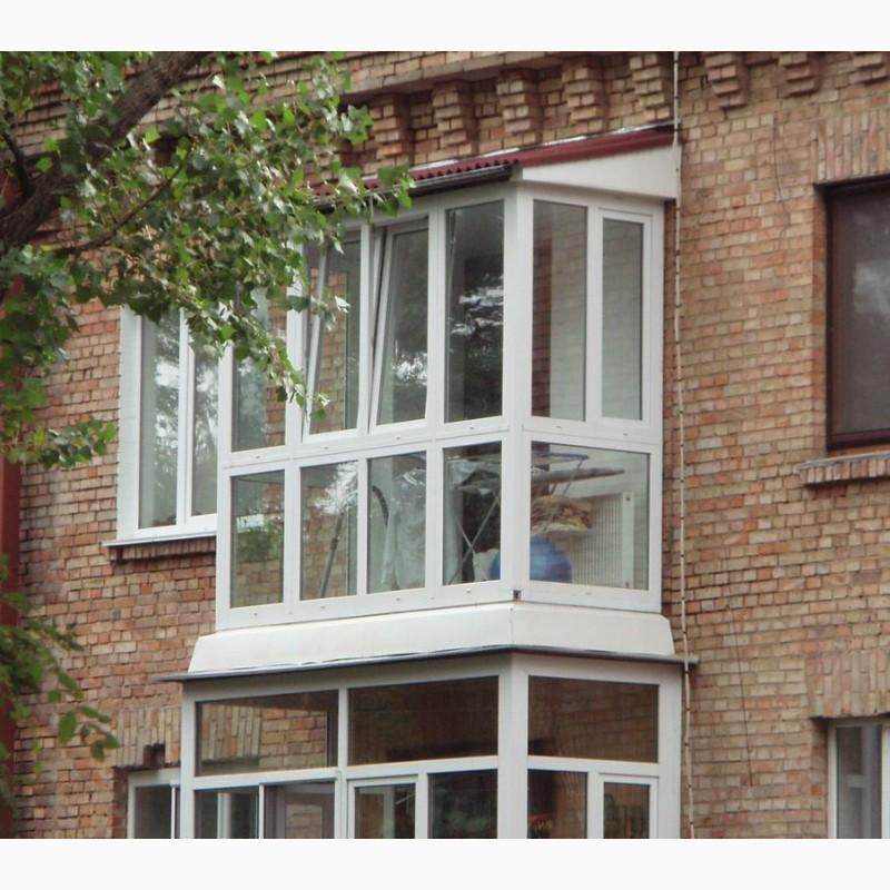 Фото 2. Остекление балконов и лоджий в Харькове от Окна Альтек