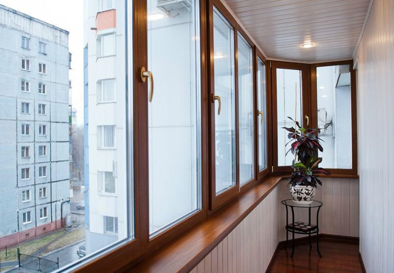 Фото 6. Остекление балконов и лоджий в Харькове от Окна Альтек