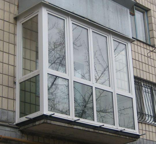 Фото 9. Остекление балконов и лоджий в Харькове от Окна Альтек