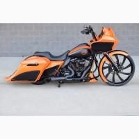 2017 Harley Davidson Touring Помаранчевий
